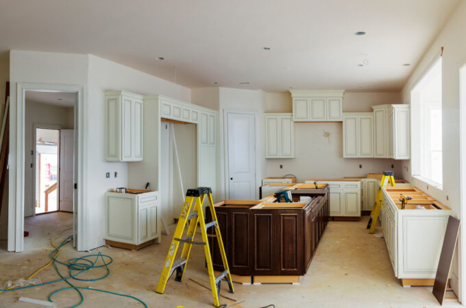 Hale Navy Kitchen Remodeling Project in Houston, TX