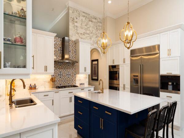 Elegant Kitchen Remodeling Project in Houston, TX